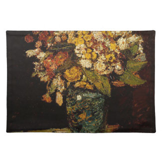 Flowers in a Vase Cloth Placemat