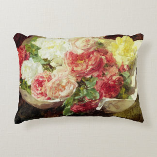 Flowers in a Vase Decorative Pillow