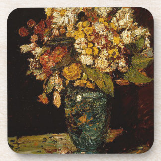 Flowers in a Vase Drink Coaster