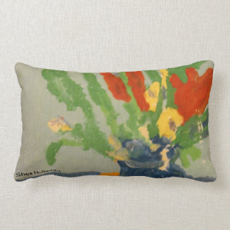 Flowers in a Vase Lumbar Pillow