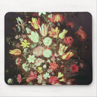 Flowers in a vase mouse pad