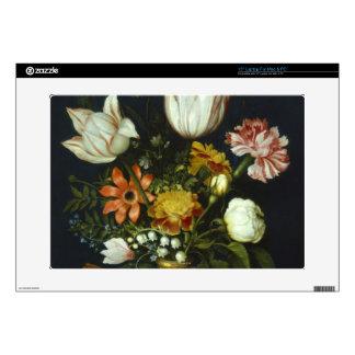 "Flowers in a Vase 15"" Laptop Skin"