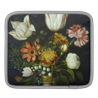 Flowers in a Vase Sleeves For iPads