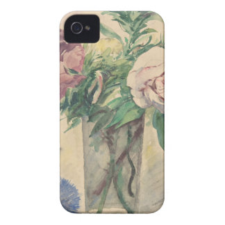 Flowers in a Vase - Zacharie Astruc iPhone 4 Cover