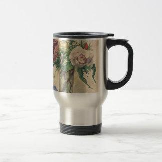 Flowers in a Vase - Zacharie Astruc Travel Mug