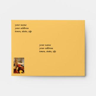Flowers in Autumn Colors - Envelope