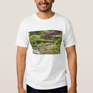 Flowers in bloom at Japanese Garden, T-shirt