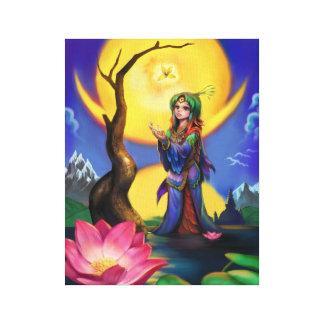 Flowers in Bloom - Chan Wook Min Canvas Print