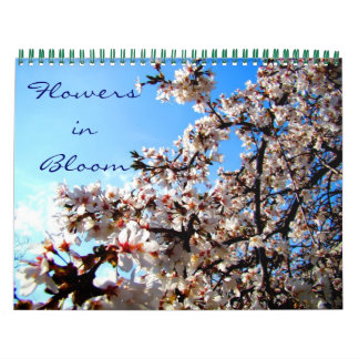 Flowers in Bloom Calendar
