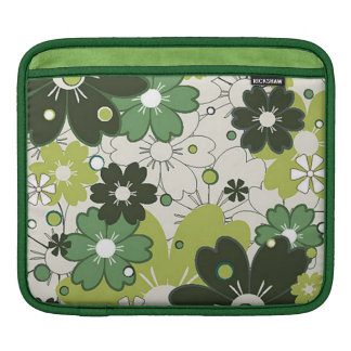 flowers in clover sleeve for iPads