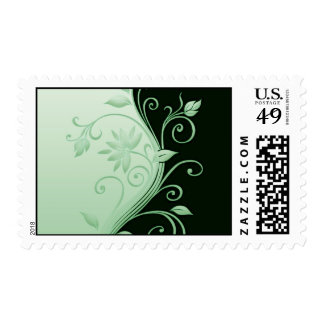 Flowers in Contrast 4 Stamp