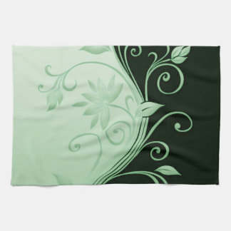 Flowers in Contrast 4 Towel