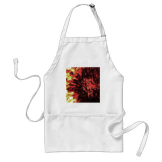 Flowers in Fire 2 Adult Apron
