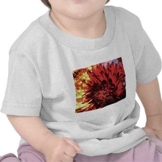 Flowers in Fire Tshirt