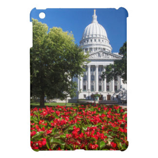 Flowers In Front Of State Capitol Building iPad Mini Case