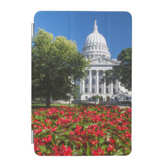 Flowers In Front Of State Capitol Building iPad Mini Cover