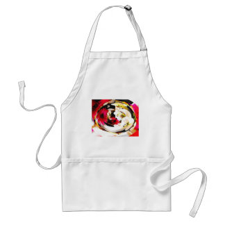 Flowers in glass adult apron