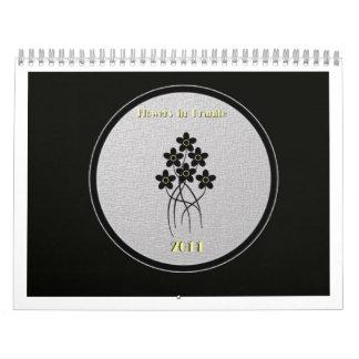 Flowers in Granite calendar cover