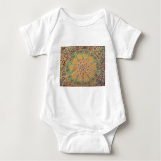 flowers in I circulate Baby Bodysuit