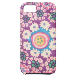 flowers in I circulate iPhone SE/5/5s Case