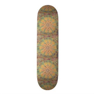 flowers in I circulate Skateboard Decks