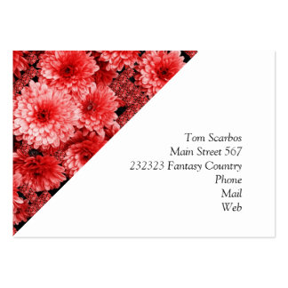 flowers in itself large business cards (Pack of 100)