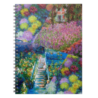 Flowers in Monet's garden are unique Notebook