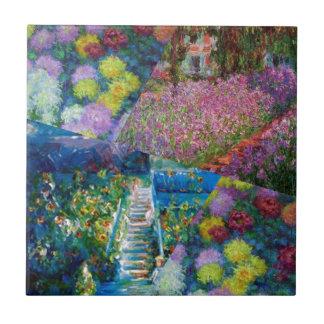 Flowers in Monet's garden are unique Tile