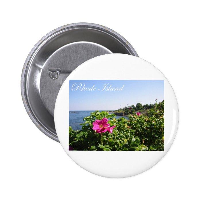 Flowers in Rhode Island Button
