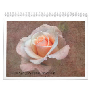Flowers in Shadows and Light Calendars