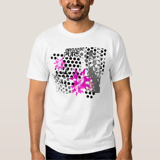 FLOWERS IN SIEVE ORGANIC T SHIRTS