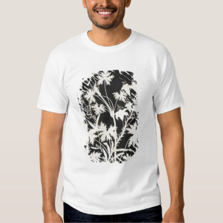 Flowers in Silhouette T-shirt
