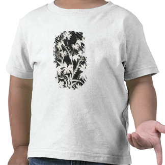 Flowers in Silhouette Shirts