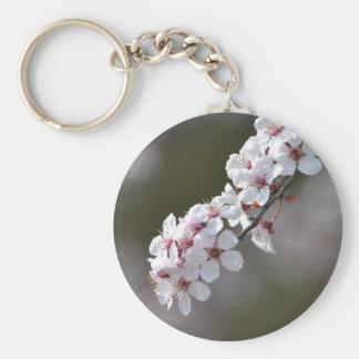 Flowers in Spring Basic Round Button Keychain