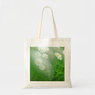 Flowers in the mist. tote bag