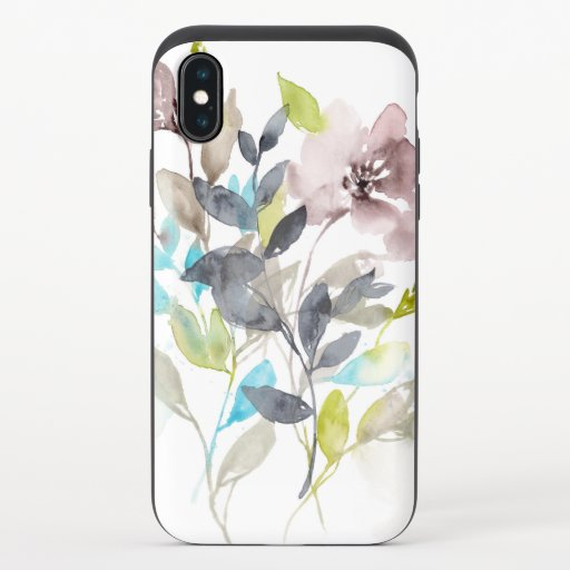 Flowers in the Mix iPhone X Slider Case