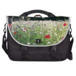 Flowers in the park laptop computer bag