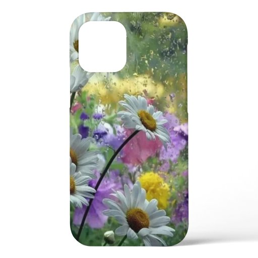 Flowers in the Rain iPhone 12 Pro Case