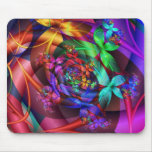 Flowers in the Sky Mouse Pad