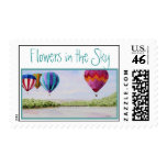 Flowers in the Sky Stamp