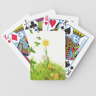 Flowers in the Sun Bicycle Playing Cards
