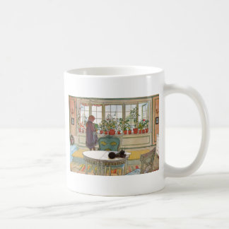 Flowers in the Window Box - Blomsterforstet Coffee Mug