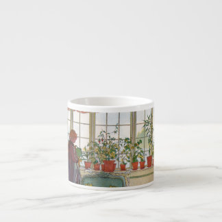 Flowers in the Window Box - Blomsterforstet Espresso Cup