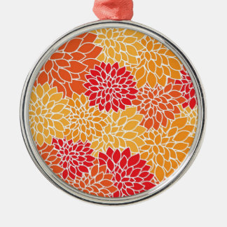 flowers in type abtrato metal ornament
