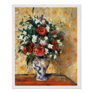 Flowers In Vase Poster 18x22