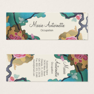 Flowers in Watercolors - Business / Calling Cards