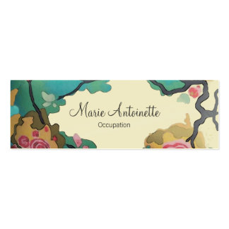 Flowers in Watercolors ~ Business / Calling Cards Double-Sided Mini Business Cards (Pack Of 20)
