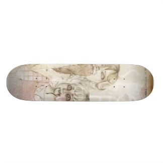 Flowers & Insects Skateboard Deck