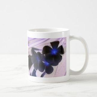 flowers invert coffee mug