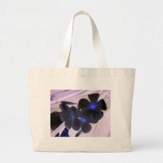flowers invert large tote bag